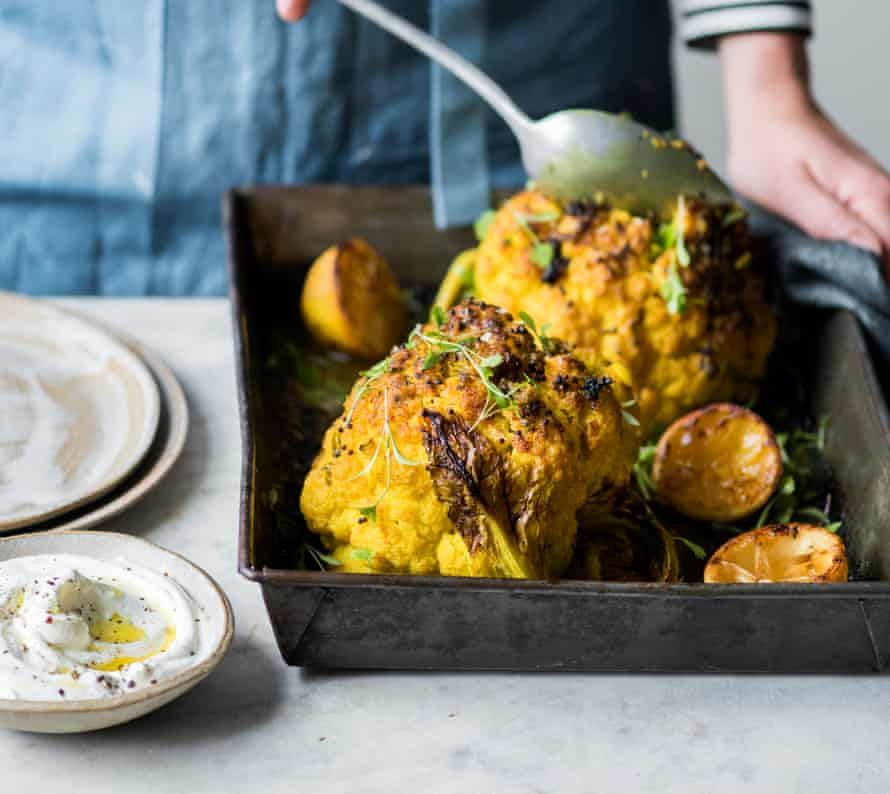 There are few things as friendly in the way they soak up flavour as a cauliflower.