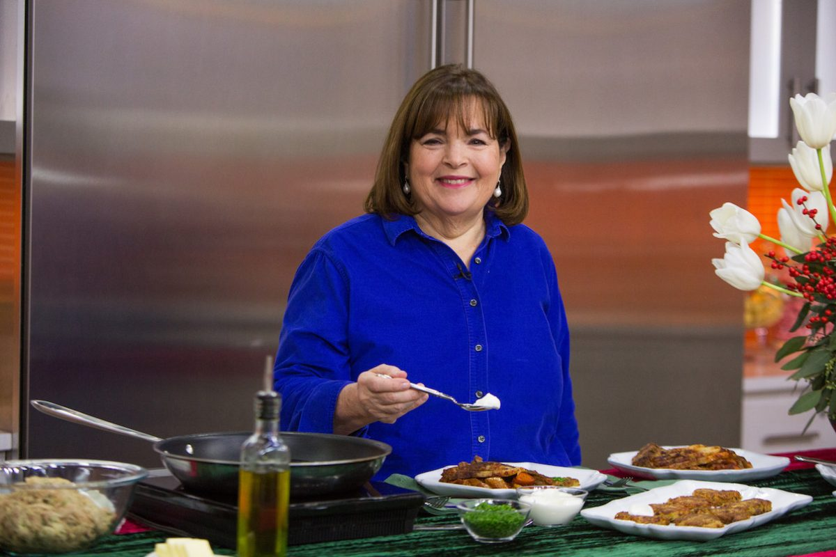 Ina Garten smiles as she holds a spoon on 'Today'