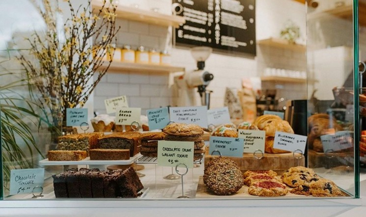 The pastries are picture-perfect at Berdena's.