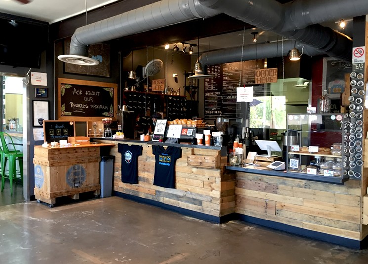 Infusion Coffee's slow bar features seven brew methods.