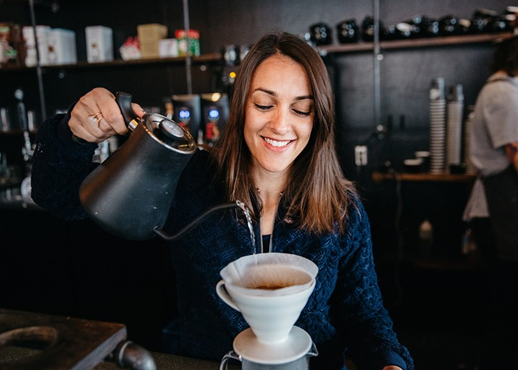 Julia Peixoto Peters serves up a true crop-to-cup experience.