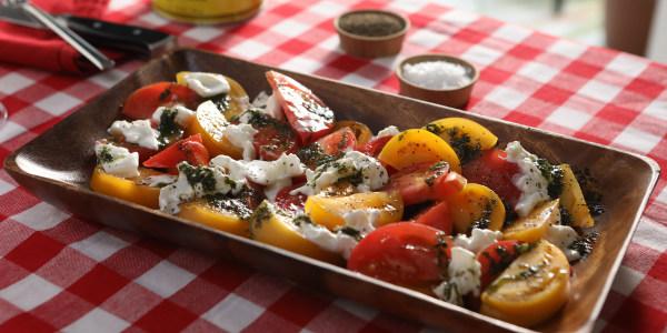 Burrata Caprese Salad