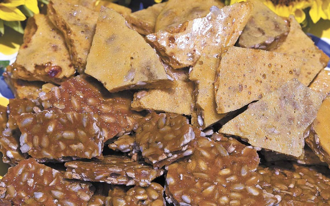 Sunflower-seed brittle is an easy-to-make treat that's perfect for a summer snack. Nick Wagner / The Forum
