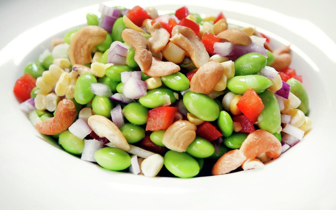 Edamame Salad. Dave Wallis / The Forum