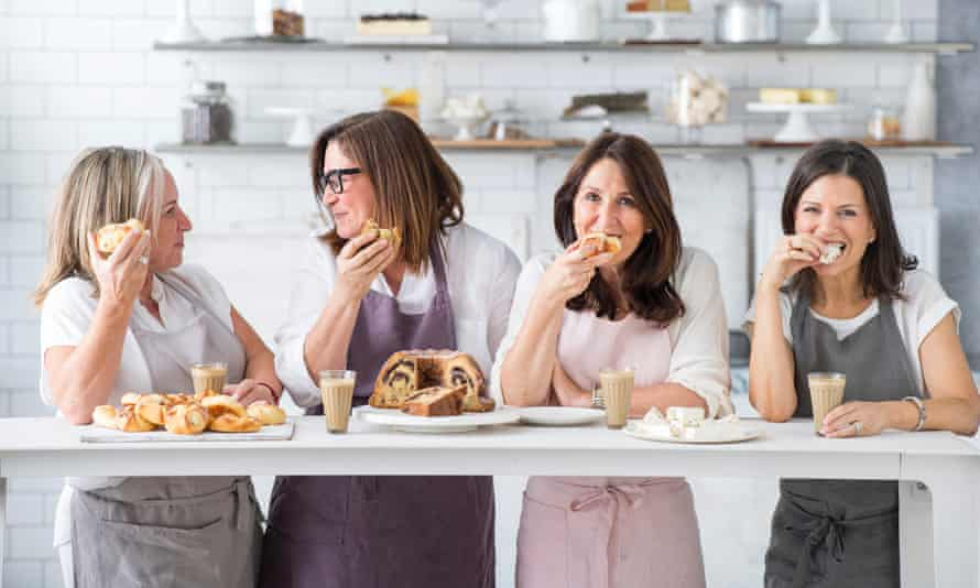 Lisa Goldberg (far left) is a founding member of Monday Morning Cooking Club, which collates and preserves Jewish recipes.