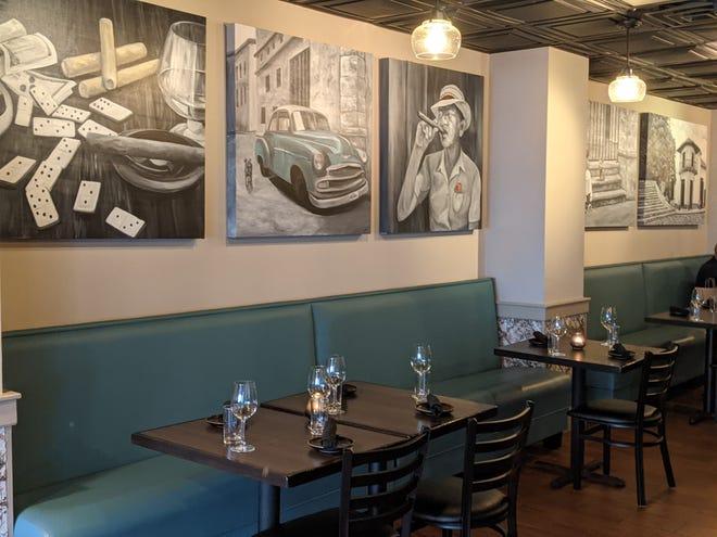 Interior of De Martino: A Latin Restaurant.