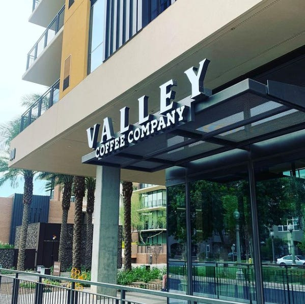 Valley Coffee Company is set to open soon near downtown Phoenix's Margaret T. Hance Park.