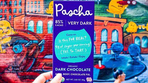 Pascha Organic Dark Chocolate Bars, 10-Pack